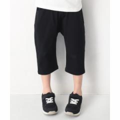 デビロック(devirock)/子供服 ハーフパンツ キッズ 韓国子供服 7分丈サルエルパンツ 男の子 女の子 ズボン