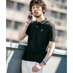 ナノ・ユニバース(メンズ)(nano universe)/【WEB限定】【19SS】ラインカラー刺繍ポロシャツ SS