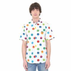 グラニフ(graniph)/【男女兼用】コラボレーションシャツ/カラフルペイントドット(エリックカール)