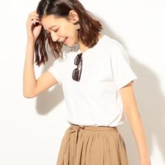 コーエン(レディース)(coen)/USAコットンベーシッククルーネックTシャツ