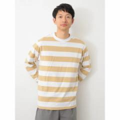 セブンデイズサンデイ(メンズ)(SEVENDAYS SUNDAY)/・ワイドボーダー長袖Tシャツ