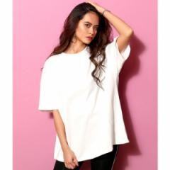 アナップ(ANAP)/コットンオーバーサイズTシャツ