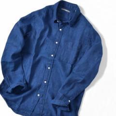 シップス(メンズ)(SHIPS)/SU: リネン パナマ レギュラーカラー シャツ