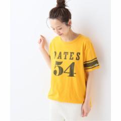 スローブイエナ(SLOBE IENA)/レディスカットソー(Champion FOOTBALL Tシャツ)