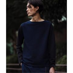 エディフィス(EDIFICE)/メンズTシャツ(WKED / ウィークエンド デニムライクドッキングL/S 難波SP)