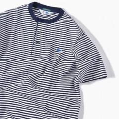 シップス(メンズ)(SHIPS)/LACOSTE: 別注 カノコ ヘンリーネック Tシャツ