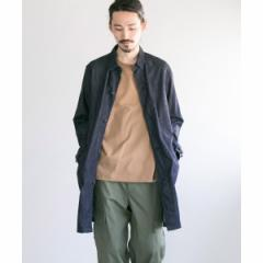 アーバンリサーチ(メンズ)(URBAN RESEARCH)/メンズコート(MANUAL ALPHABET 6oz DENIM SHIRTS COAT)
