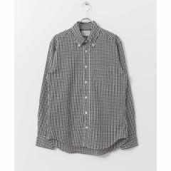 アーバンリサーチ(メンズ)(URBAN RESEARCH)/メンズシャツ(MANUAL ALPHABET ギンガムBDシャツ)