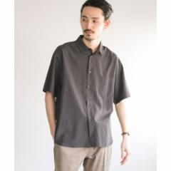 アーバンリサーチ(メンズ)(URBAN RESEARCH)/メンズシャツ(リヨセル/コットン オーバーシャツ)