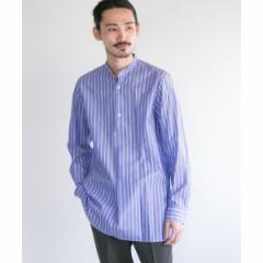 アーバンリサーチ(メンズ)(URBAN RESEARCH)/メンズセーター(URBAN RESEARCH Tailor ストライプバンドカラーシャツ)
