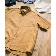 アーバンリサーチ サニーレーベル(メンズ)(URBAN RESEARCH Sonny Label)/メンズシャツ(リネン半袖シャツ)