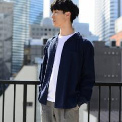 コーエン(メンズ)(coen)/【WEB限定】ワイドフィットリネンレーヨンオープンカラーシャツ