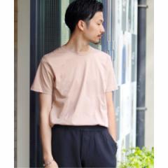 417エディフィス(417 EDIFICE)/メンズTシャツ(【汗染み防止加工】 シルケットスムース クルーネック ショートスリーブ)