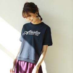 コーエン(レディース)(coen)/USAコットンロゴプリントTシャツ