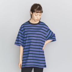 ビューティ&ユース ユナイテッドアローズ レディス(BEAUTY&YOUTH)/BY マルチボーダー6分袖Tシャツ