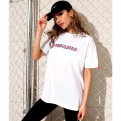 アナップ(ANAP)/ネオンテープ付プリントTシャツ