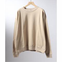 エディフィス(EDIFICE)/メンズTシャツ(AURALEE / オーラリー スーパーハイゲージ スウェット ビッグプルオーバー)