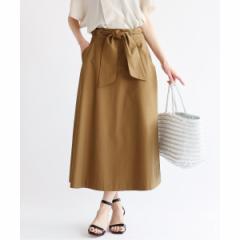 イエナ(IENA)/レディススカート(ツイルリボンスカート◆)