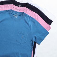 コーエン(メンズ)(coen)/USAコットンクルーネックカラーTシャツ