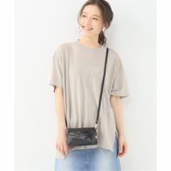 イエナ(IENA)/レディスカットソー(UNFIL リネン オーバーサイズTシャツ)