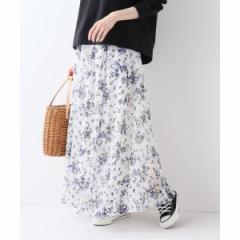 スローブイエナ(SLOBE IENA)/レディススカート(スプリングフローラル スカート)
