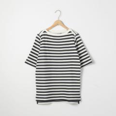 コーエン(レディース)(coen)/セッケツボーダーボートネックTシャツ