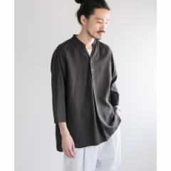 アーバンリサーチ(メンズ)(URBAN RESEARCH)/メンズシャツ(MANUAL ALPHABET TENCEL TWILL PO SHIRTS)