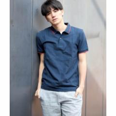 ジョルダーノ(メンズ)(GIORDANO)/[GIORDANO]ベーシック無地ポロシャツ