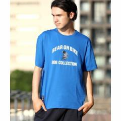 ジョルダーノ(メンズ)(GIORDANO)/[GIORDANO]BOBグラフィックプリントTシャツ