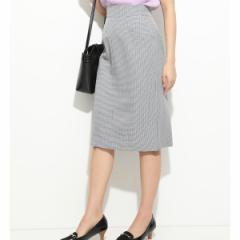 ビス(ViS)/フロントL字ポケットタイトスカート