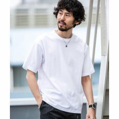 ナノ・ユニバース(メンズ)(nano universe)/【WEB限定】【19SS】ローマジャガードビッグTシャツ 半袖