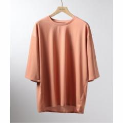 エディフィス(EDIFICE)/メンズTシャツ(DESCENTE PAUSE / デサントポーズ 別注 ゼロシーム ビッグ TEE)