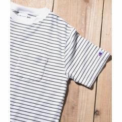 アーバンリサーチ サニーレーベル(メンズ)(URBAN RESEARCH Sonny Label)/メンズTシャツ(Champion ボーダーTシャツ)