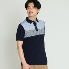 ビームス(BEAMS)/BEAMS / クロス 切替 ポロシャツ
