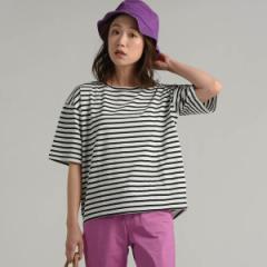 リップスター(LIPSTAR)/ボーダーゆるTシャツ