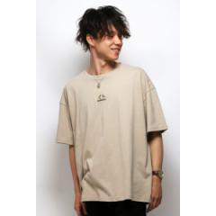 ヴァンスエクスチェンジ メンズ(VENCE EXCHANGE)/KANGOLワイドシシュウTシャツ