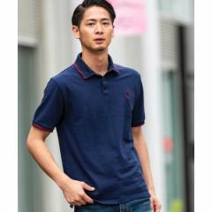 A・S・M(A.S.M)/【ADMIX】サマー 鹿の子 / ワンポイント 刺繍入り ポロシャツ(半袖)