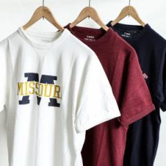 コーエン(メンズ)(coen)/ガゼットスラブプリントTシャツ