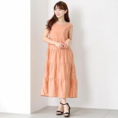ミューズ リファインド クローズ(MEW'S REFINED CLOTHES)/ティアードノースリワンピース