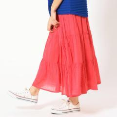 グランドパーク(GRAND PARK)/インド綿ティアードスカート