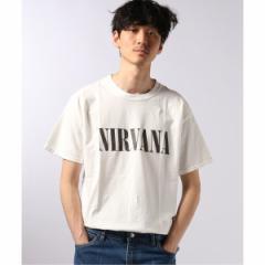 エディフィス(EDIFICE)/メンズTシャツ(Insonnia PROJECTS / インソニア プロジェクト NIRVANA LOGO SS TEE)
