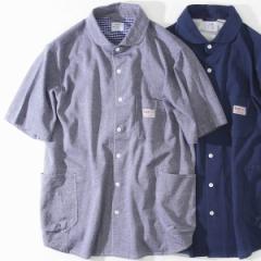 コーエン(メンズ)(coen)/SMITH別注ショールカラー半袖ワークシャツ(その他1⇒WEB限定カラー)