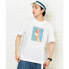 ウィゴー(メンズ)(WEGO)/フルーツフォトTシャツ