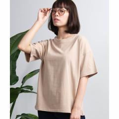 ウィゴー(レディース)(WEGO)/USAコットンUネックTシャツ