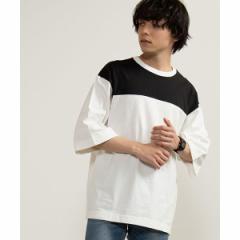【NEW】ウィゴー(メンズ)(WEGO)/ドロップショルダーTシャツ