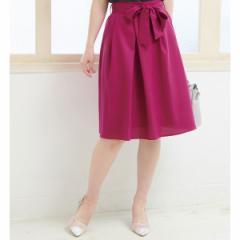 ロペピクニック(ROPE' PICNIC)/重ねタックリボン付きスカート