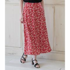 ロペピクニック(ROPE' PICNIC)/【WEB限定】【セットアップ対応】小花柄マーメイドスカート