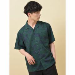 セブンデイズサンデイ(メンズ)(SEVENDAYS SUNDAY)/・半袖リゾ−ト柄シャツ