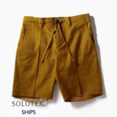 シップス(メンズ)(SHIPS)/SC: SOLOTEX(R) サフィラン リネン ハイブリッド イージー ショーツ
