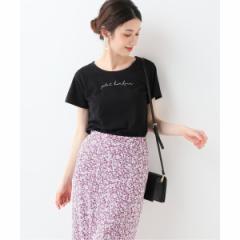 【NEW】スローブイエナ(SLOBE IENA)/レディスカットソー(petit bonheur Tシャツ)